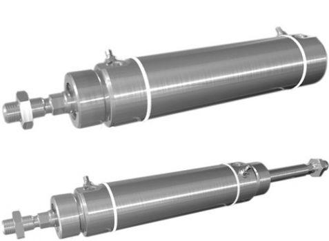 ICS-D2系列圆形气缸